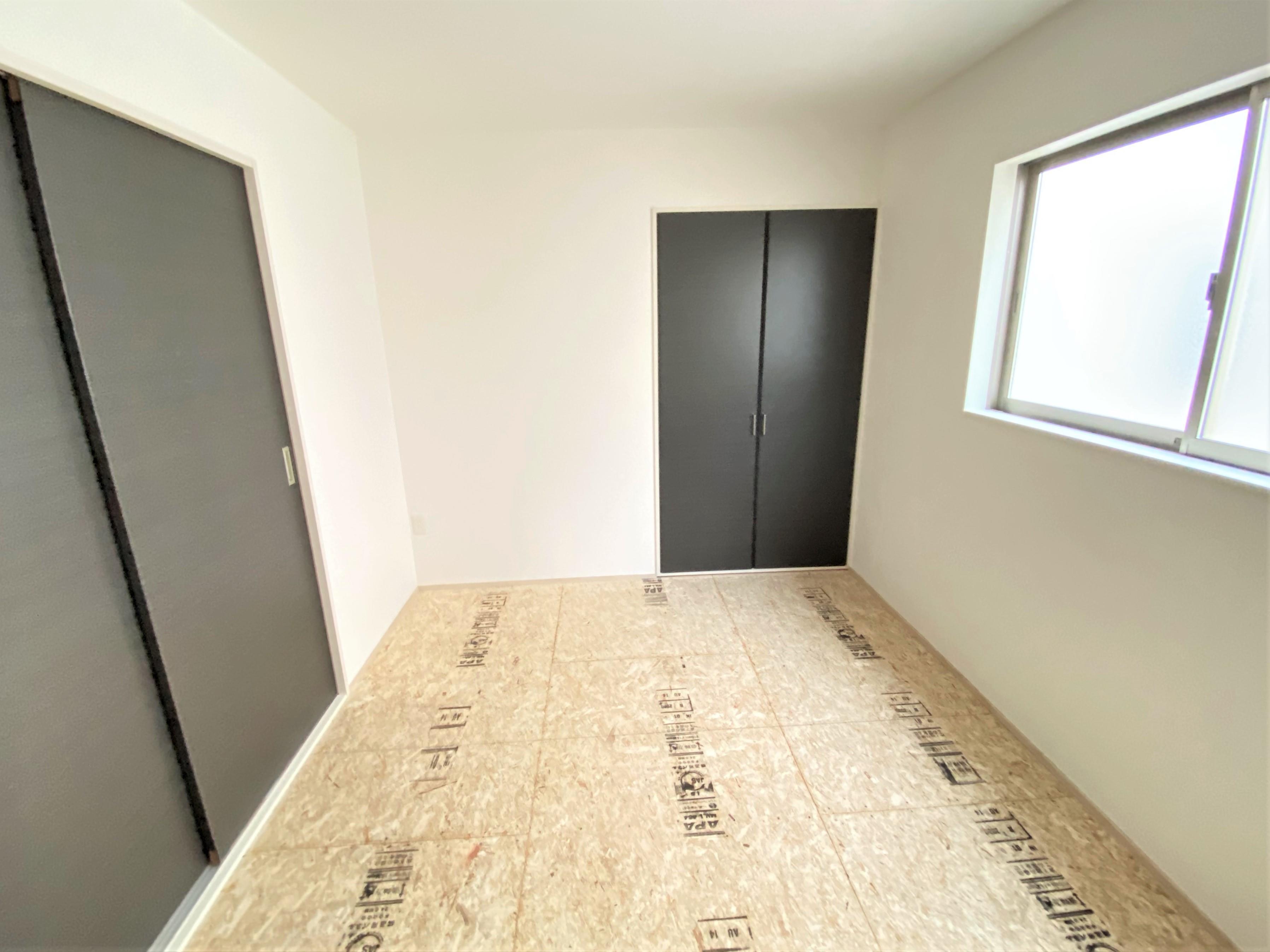 和室の押入れには、お布団や座布団をしまえるのでいつもすっきりとした和室が実現します♪