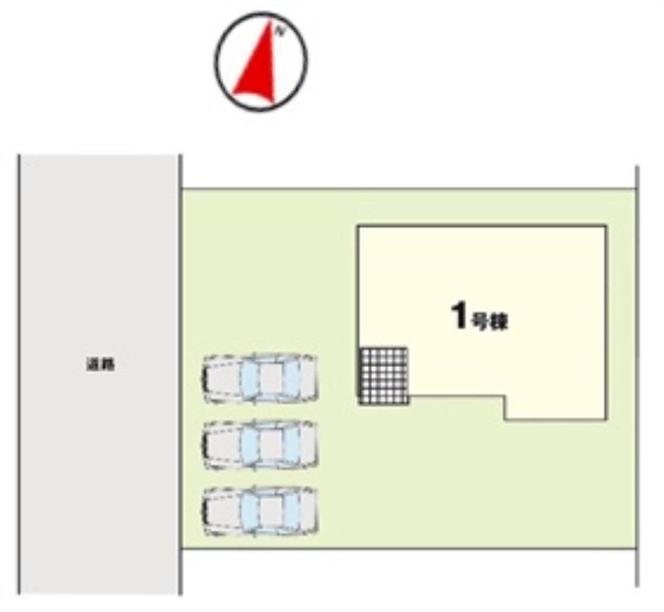 【KEIAI】 -Ricca- 水戸市東前町3期 1号棟