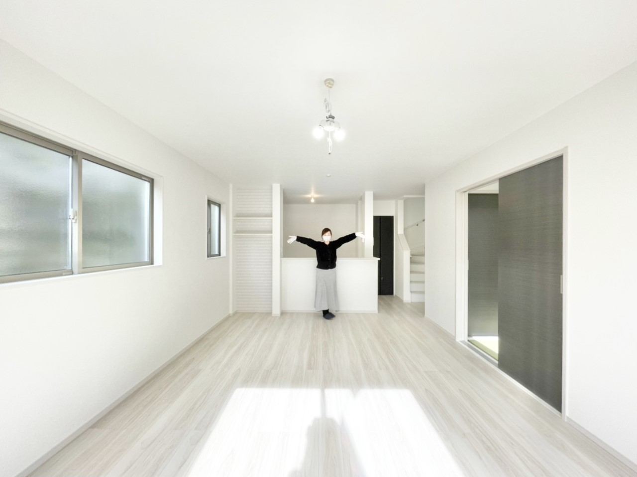【KEIAI】 BIG HOUSE 水戸市河和田1期 1号棟