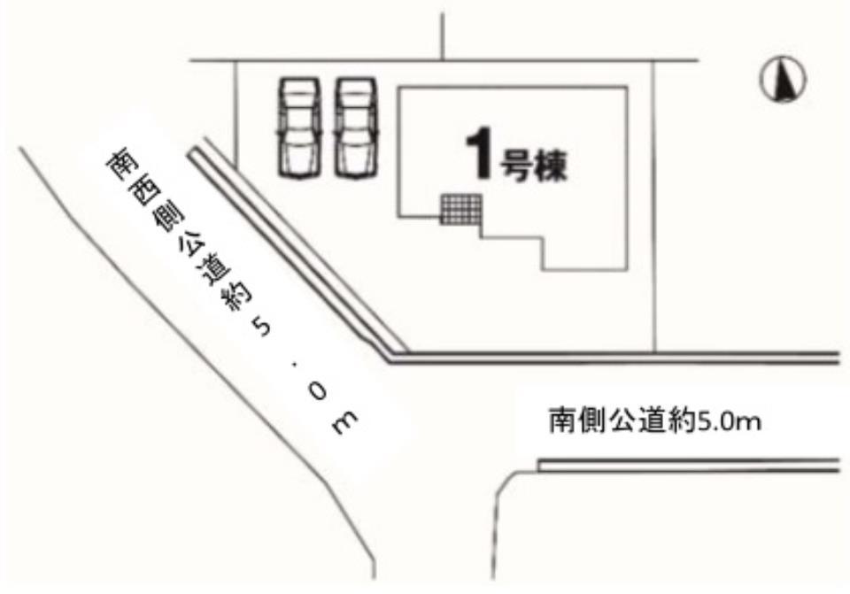 【KEIAI】 BIG HOUSE 佐波郡玉村町2期 1号棟