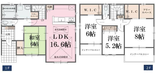 価格2498万円、4LDK、土地面積150.25m2、建物面積108.88m2