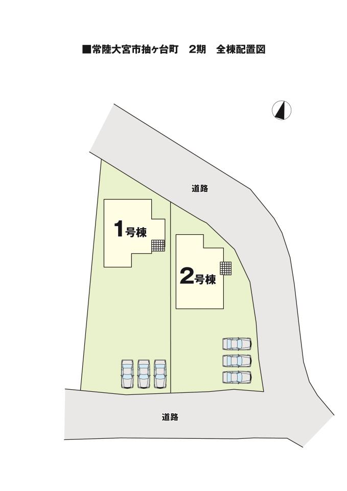 【KEIAI】 -Ricca-  常陸大宮市抽ヶ台町2期 全2棟