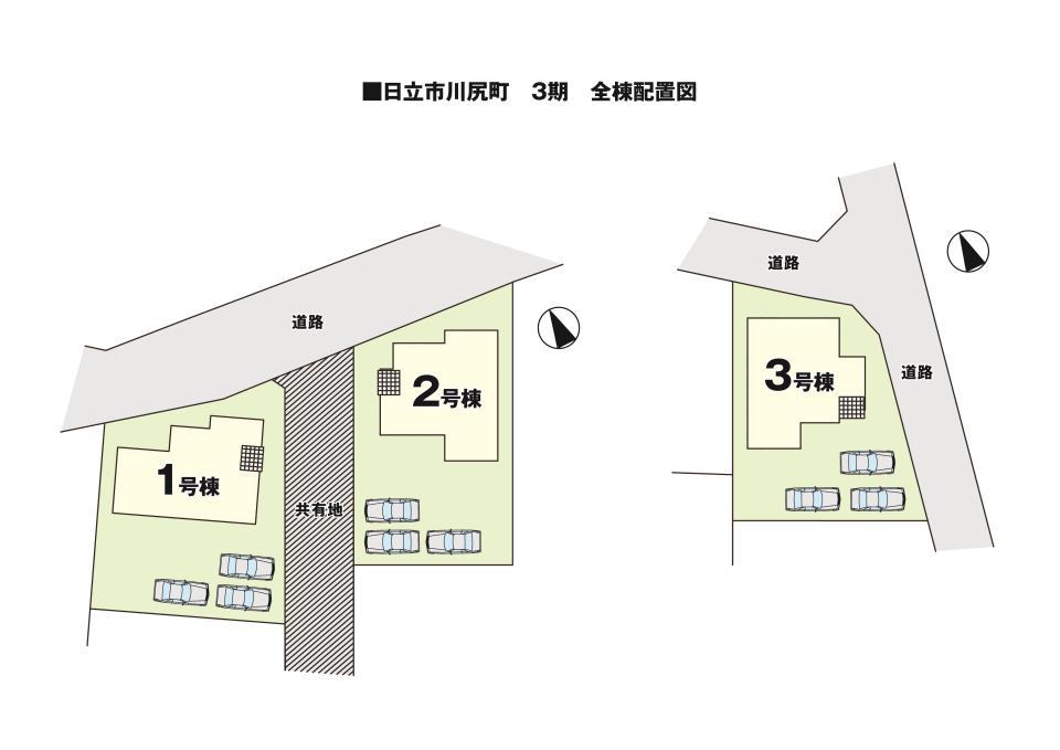 【KEIAI】 -Ricca- 日立市川尻町3期 全3棟