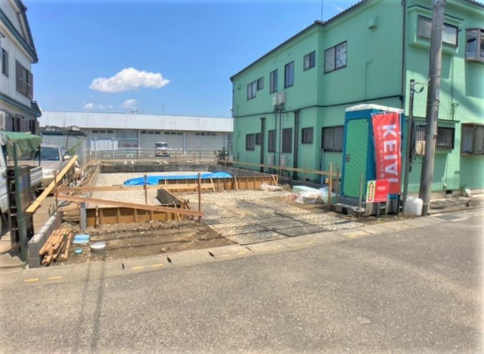 1号棟・現地写真  ●西小学校・北本中学校エリア♪スーパー、薬局、郵便局も近く、生活しやすい住環境が揃っています。
