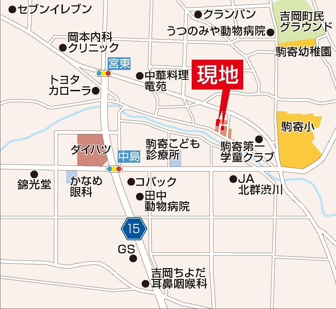 画像種別:地図1周辺環境:地図-現地案内図1