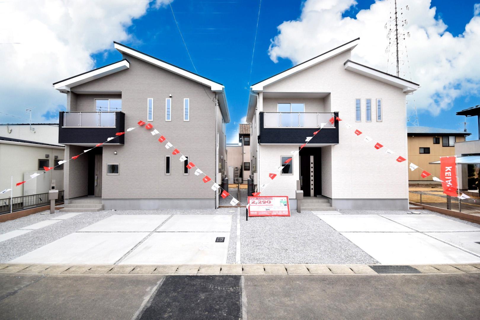 新デザイン「Zut PLUS」岩松町に新登場!いつでも内覧可能です。ぜひ、お問い合わせください!