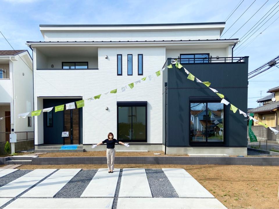 現地外観写真*外観|茨城県でのおうち探しはケイアイカーザスタイルつくばにお任せください!☆(2021年3月撮影)