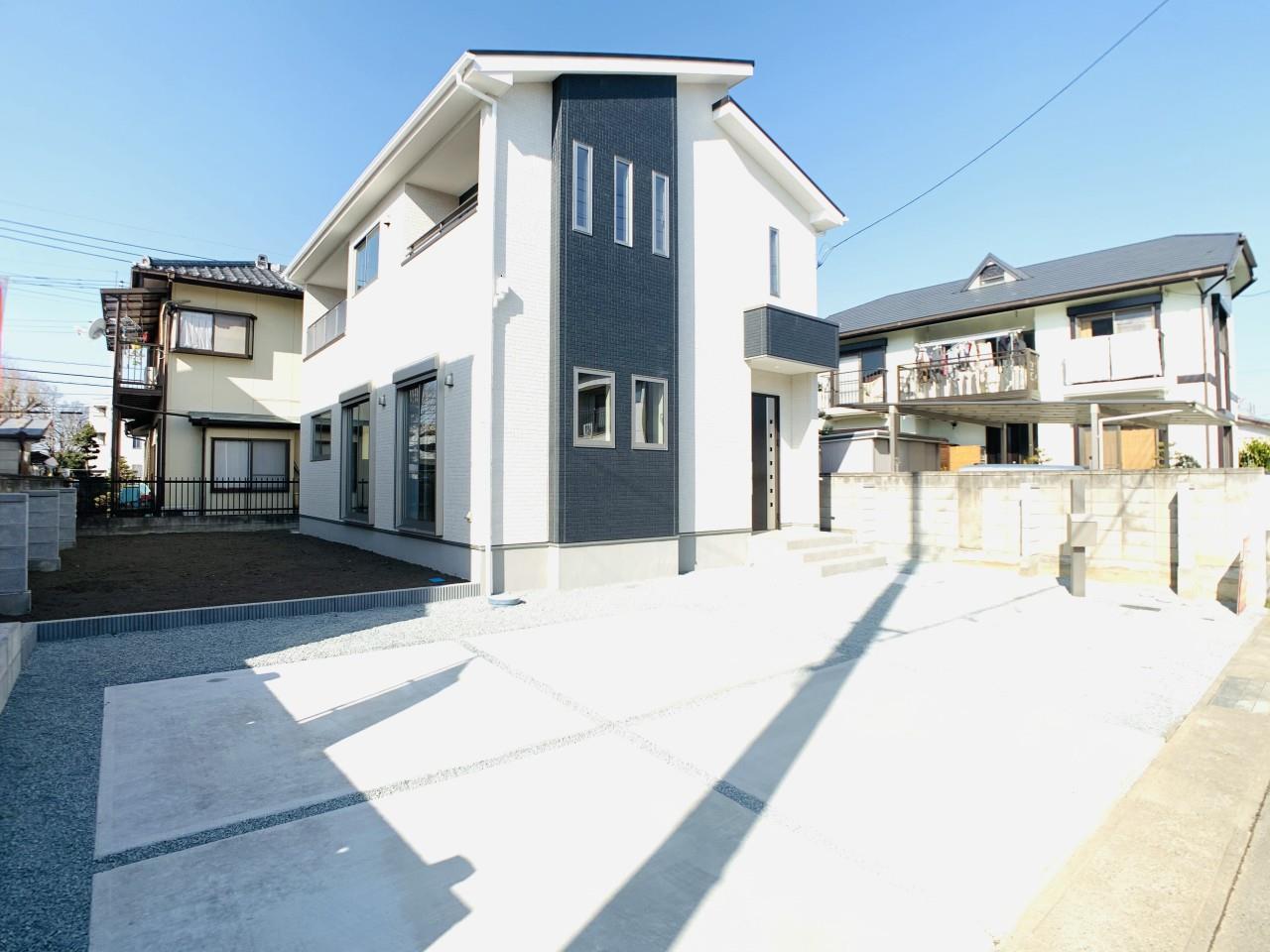 1号棟|物置やタイヤ置き場も作れる広いお庭のある、マイホーム生活を始めませんか?