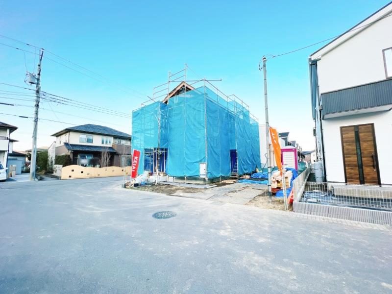 現地(2021年9月10日)撮影  1号棟建築地