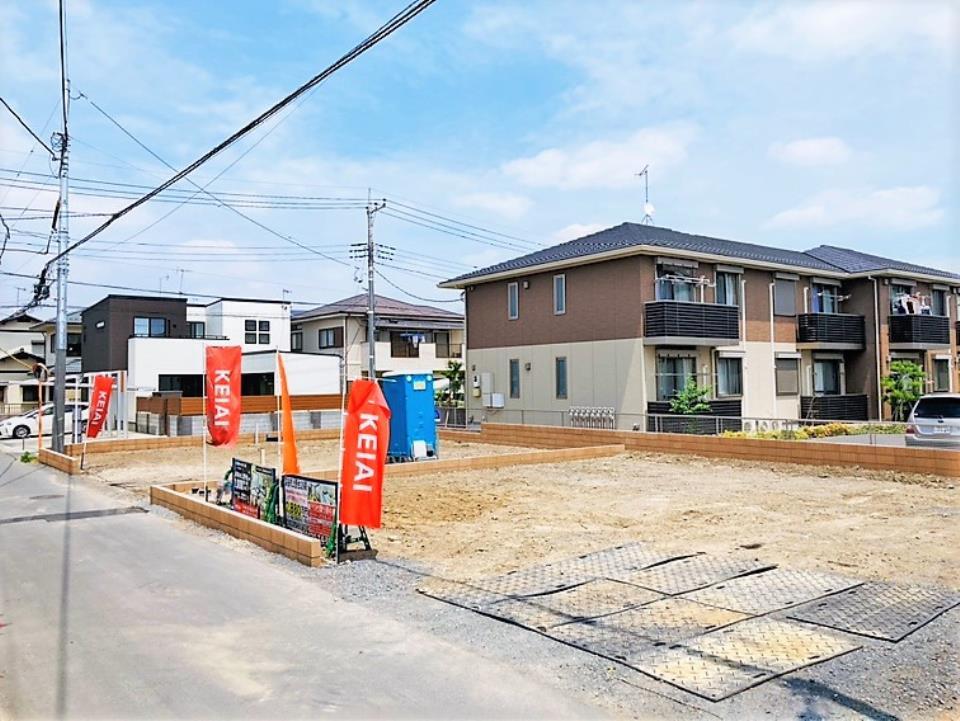 \ヤオコー上野台店近く/都市ガス・本下水の家