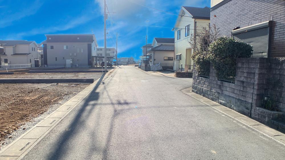 現地(2021年1月)撮影  前面道路写真♪